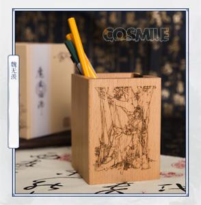 Grandmaster of Demonic Cultivation Lan Wangji Wei Wuxian BL trä Brush pot Sa