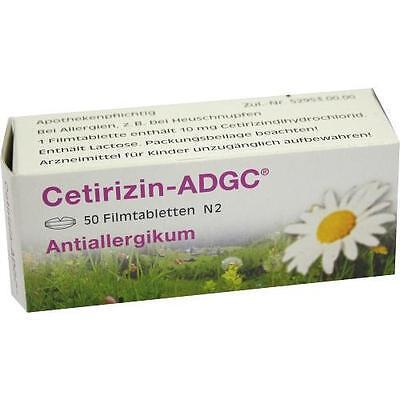 CETIRIZIN ADGC 50St 2662780