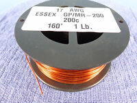 17 Awg...enameled Magnet Wire.....200c..1 Lb....17 Ga..essex...free Shipping