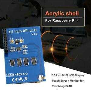 3 5 Inch For Raspberry Pi 4B MHS LCD +Shell Display Touch