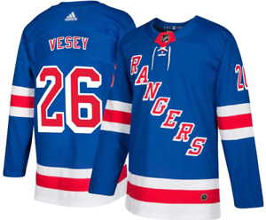 outlet store 64e7f d89b9 Details about adidas Men's New York Rangers Jimmy Vesey Authentic Jersey ~  Size 50 (Medium)