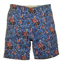 City Ink Boys Blue & Red Printed Cotton Short Size 4 5 6 7 $32