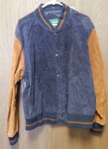 Hill And Archer Vintage Split Leather Jacket Mens