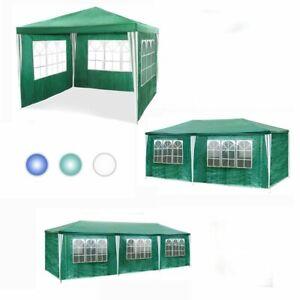 3x3-6-9m-Partyzelt-Gartenzelt-Festzelt-Hochzeit-Bierzelt-Pavillon-Zelt-Camping