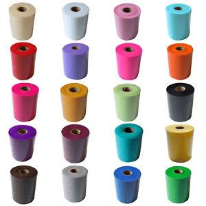 6-034-x-100-Yards-Soft-Tulle-Roll-Wedding-Bridal-Tutu-Spool-Gift-Wrap-Craft-Fabric
