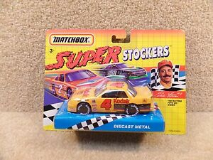 New 1992 Matchbox Diecast Nascar Super Stockers Ernie Irvan Pepsi