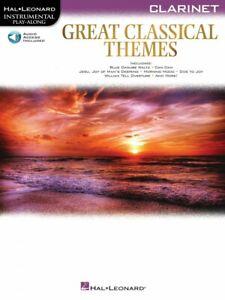 100% Vrai Grand Classique Thèmes Clarinette Instrumental Play-along Book And Audio 000292728-afficher Le Titre D'origine