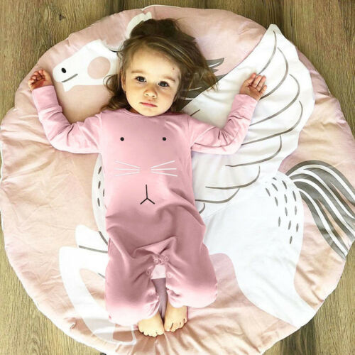 Fashion Newborn Infant Baby Girl Letter Princess Romper Jumpsuit Outfits Clothes