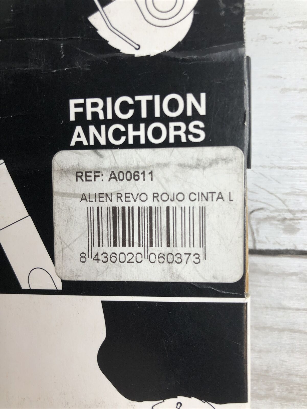Alien Revolution Cam Revo Friction Anchor Red Made in Spain for sale online