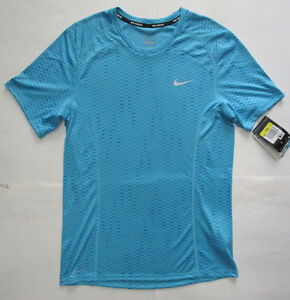 7ab87e513dcc Image is loading Men-039-s-Nike-Running-Dri-Fit-Shirt-