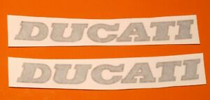DUCATI MONSTER 900 EARLY MODELS CAGIVA ERA FUEL TANK CURVED  DECALS PAIR