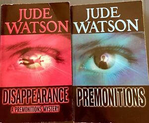 Premonitions-and-Disappearance-Lot-of-2-Books-Jude-Watson-Young-Adult-Fiction