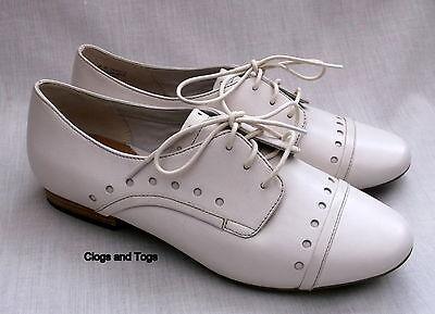 Zapatos de cuero nuevo Clarks ACTIVE AIR HENDERSON Dama Para mujeres de color blanco 6/39.5