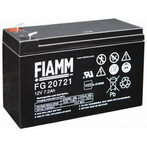 BATTERIA-FIAMM-FG20721-12V-7-2A-PIOMBO-GEL-ERMETICA-7-2AH-RICARICABILE-13-8V-AGM