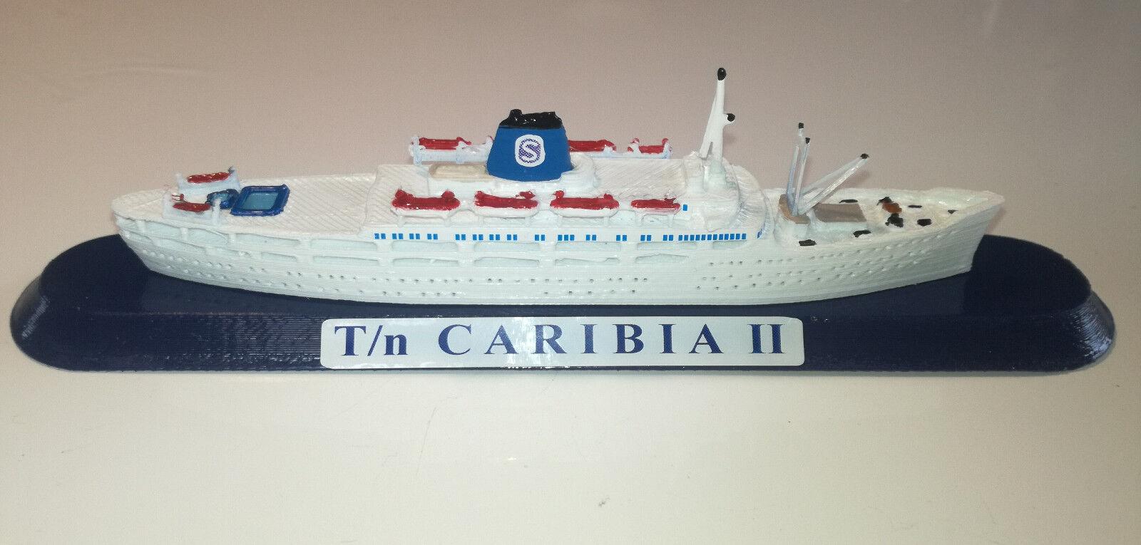 SIOSA  FRATELLI GRIMALDI ship CARIBIA 2 Ex. Roma Flotta Lauro model ship 1 1250