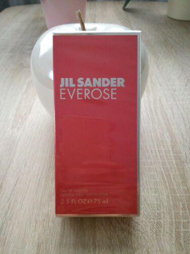 Jil Sander Everose Eau De Toilette 75ML Neu  94uyt j2FDO