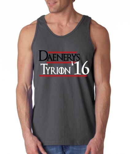 """Game Of Thrones /""""Danerys Tyrion 2016/"""" shirt TANK-TOP"""