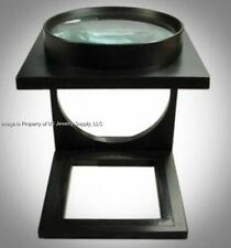 1 Folding Jewelers Craft Project Inspection Magnifier 3.5X Power 70mm