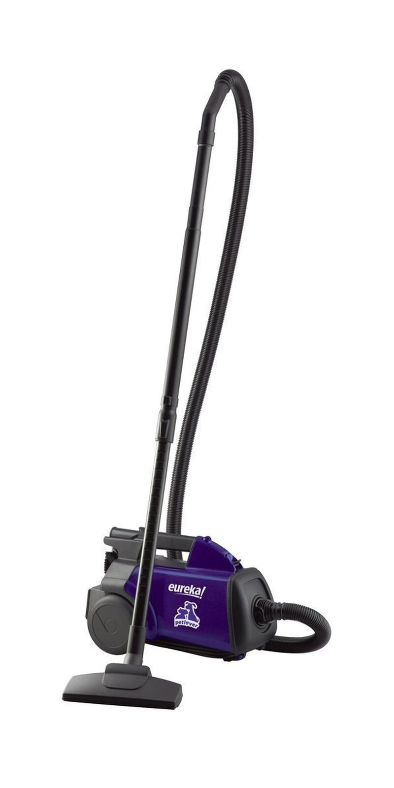 Eureka Mighty Mite Bagged Canister Vacuum Cleaner, Pet, purple