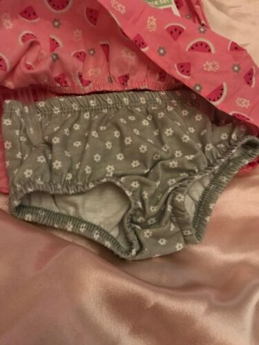 HEALTHTEX BABY 0-3 MONTH GIRLS ADORABLE 2 PIECE ADORABLE SWEET