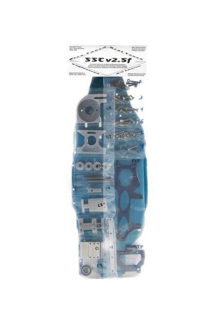Shining Star Converson Aluminum Chassis Kit V2.5F for Traxxas Slash 4x4 SSCv2.5F