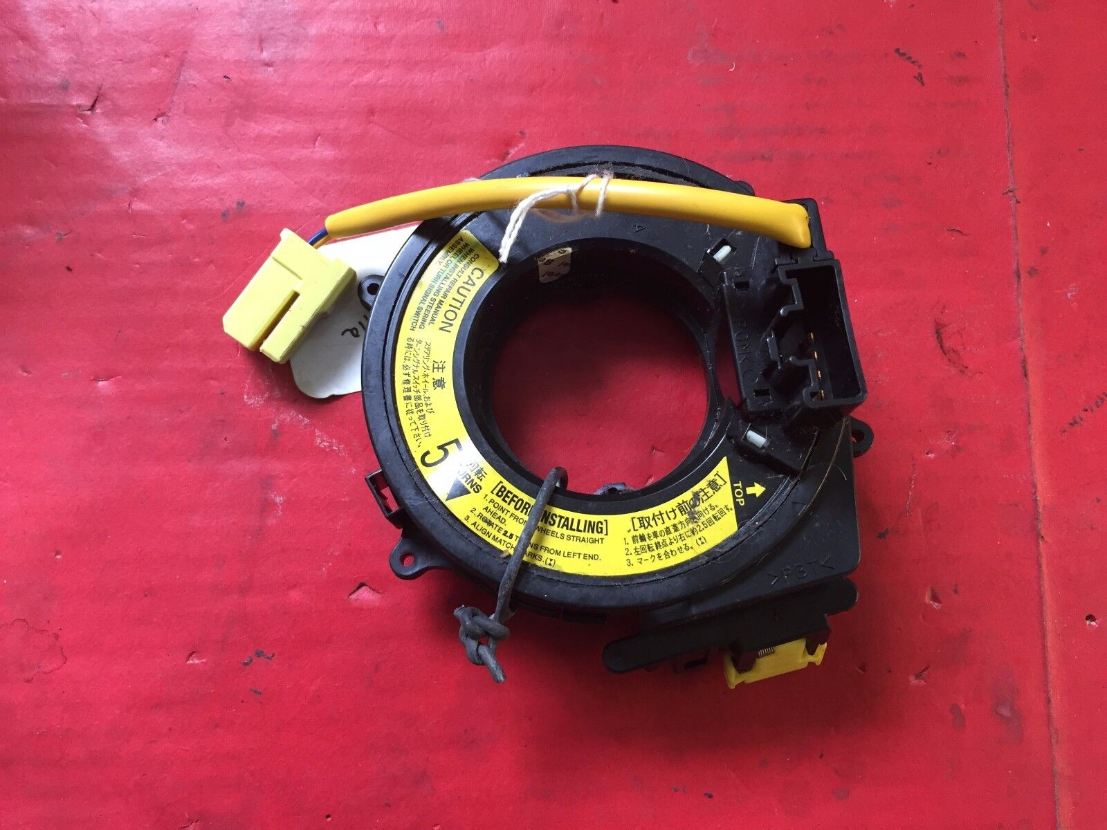 2001-2002 TOYOTA SEQUOIA CLOCK SPRING CRUISE EQUIPPED USED OEM!