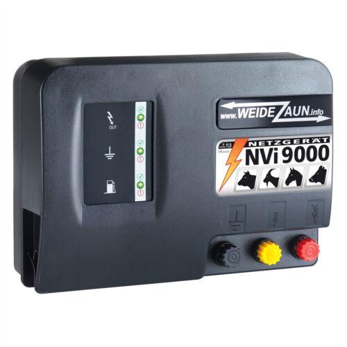 230V Weidezaungerät NVI 9000 starke 11J Elektrozaun Blitzschutz Erdung Weidezaun