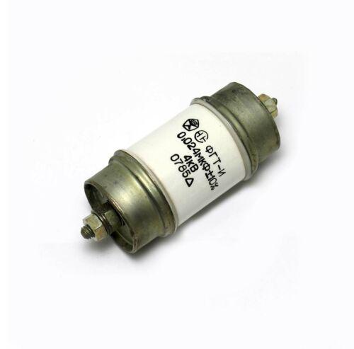 2x 0.024uF 0,024uF .024uF 4kV 4000V Cerámica HV Pomo condensadores FGT PTFE-me