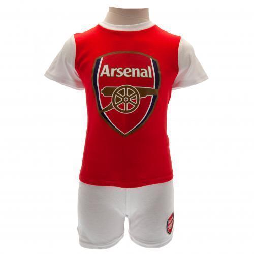 Arsenal Fc Kids Baby Official Home Football Kit Shirt /& Shorts 18//19 Season