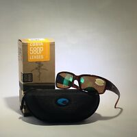 Costa Del Mar-cl 10 Ogmp-caballito-tortoise-green 580p Plastic Sunglasses