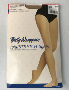 Body Wrappers A30 Adult Total Stretch Footed Tights