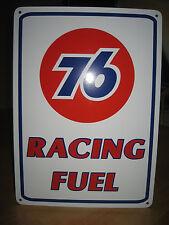 UNION 76 Racing Fuel Gas Pump SIGN Service Station Unicol oil Ad Logo Free Ship