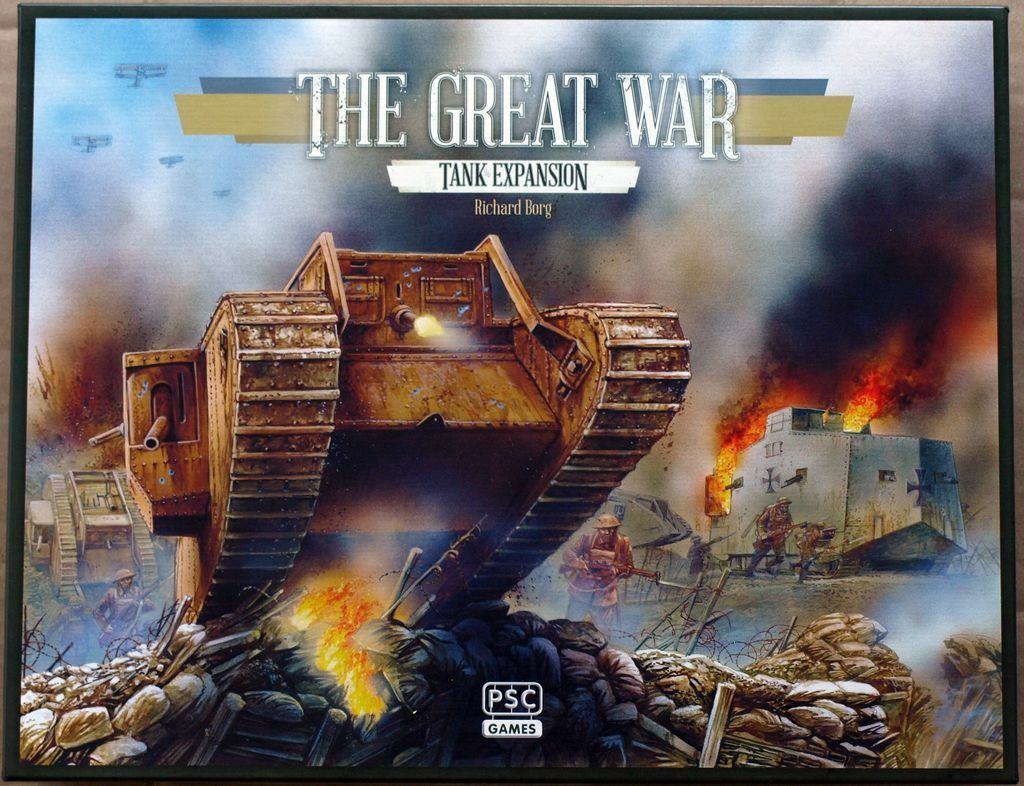 ComFemmeds & Colours series - The Great War : Tank Tank Tank Expansion 80c6df