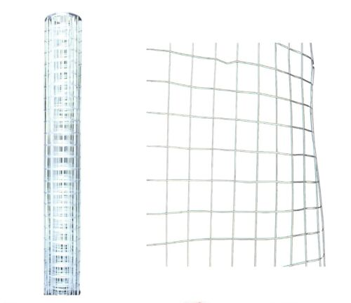 GALVANISED GARDEN FENCE MESH NET CHICKEN RABBIT BORDER WIRE NETTING 1.5M X 60 CM