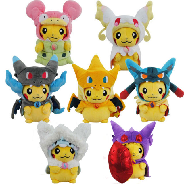 2016 Anime Pokemon Center Pikachu Cosplay Mega Altaria Plush Toy Soft Doll 20 CM