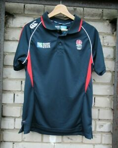 England-Rugby-Shirt-Canterbury-coupe-du-monde-2015-taille-S-polo