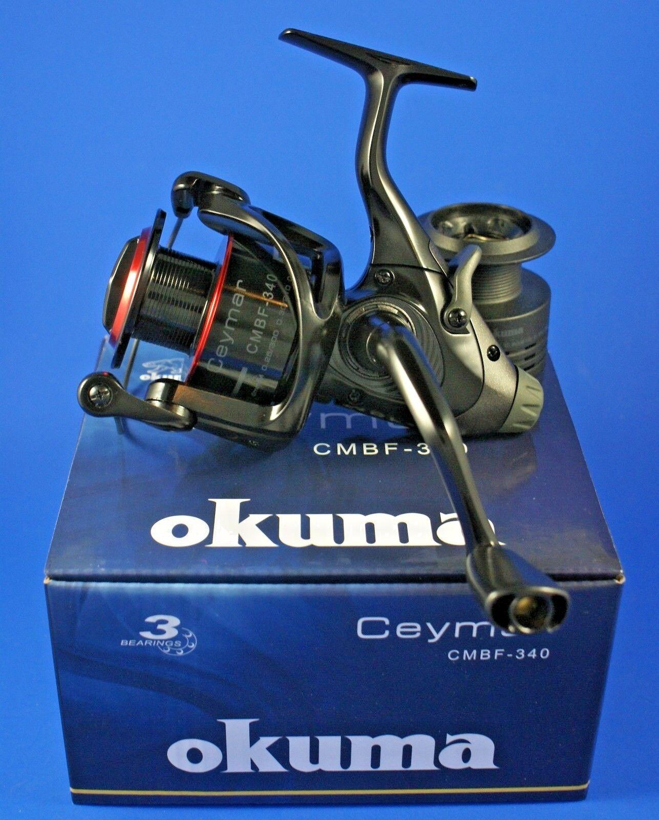 OKUMA ceymar Baitfeeder cmbf - 2+1BB 340 2+1BB - 5.0: 1 54203 FISHING REEL 7c460e