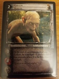 LOTR TCG Gollum Hopeless 15R43 The Hunters NEAR MINT