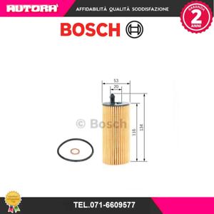 Filtro olio BOSCH F026407205 BMW