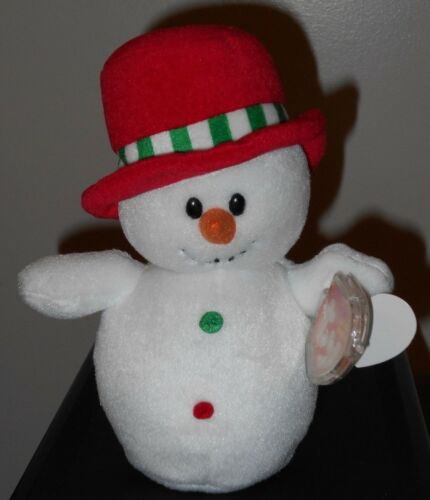 Ty Beanie Baby ~ MELTON the Snowman ~ Walgreens Exclusive ~ MINT with MINT TAGS
