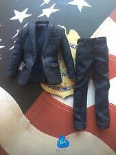 Dragon in Dreams DID Secret Service SA Mark Blue Suit loose 1/6th scale