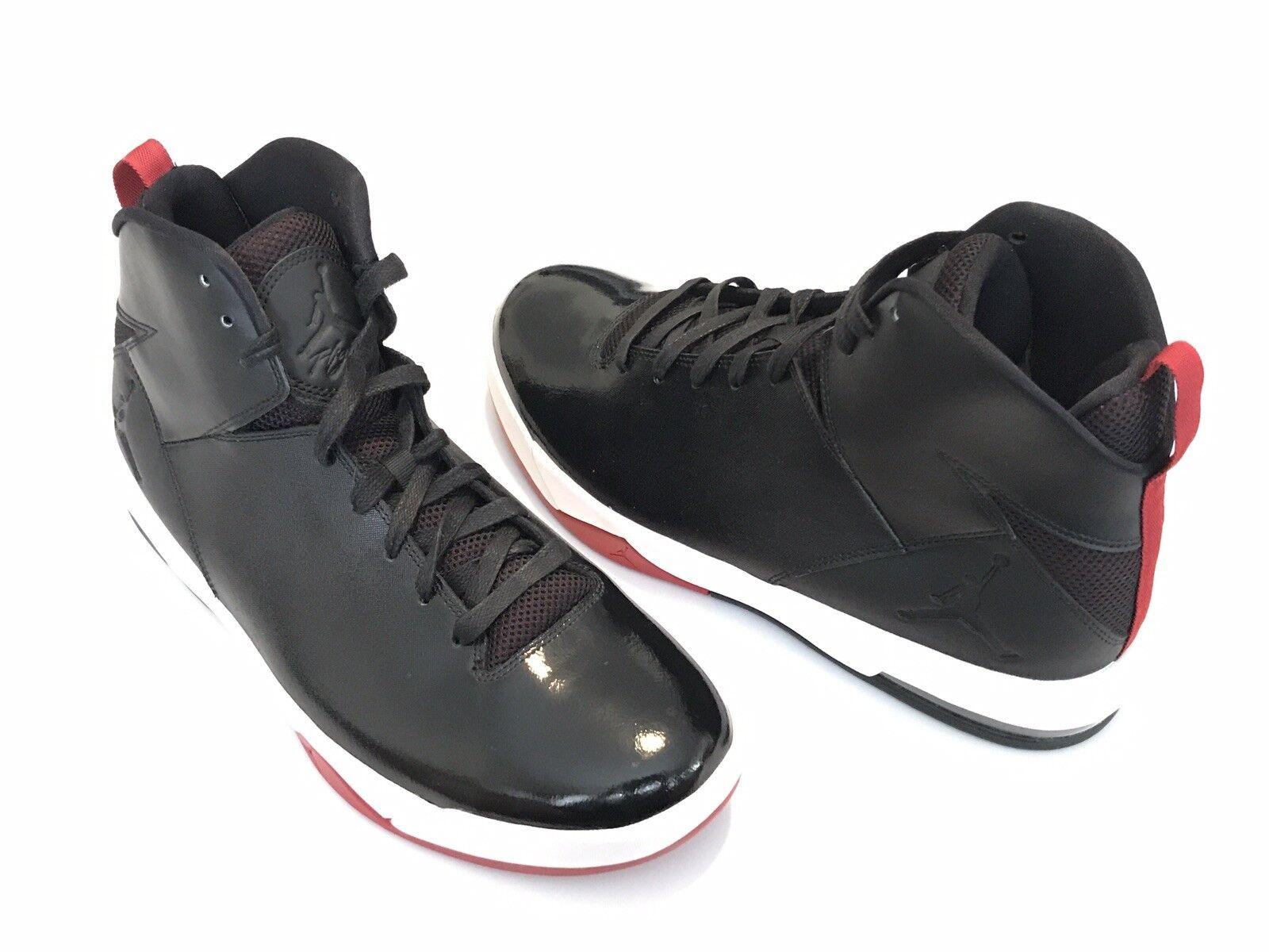 Nuevo Jordan Imminent para hombre 705077-001 Negro Rojo Air Calzado De Baloncesto Hombres