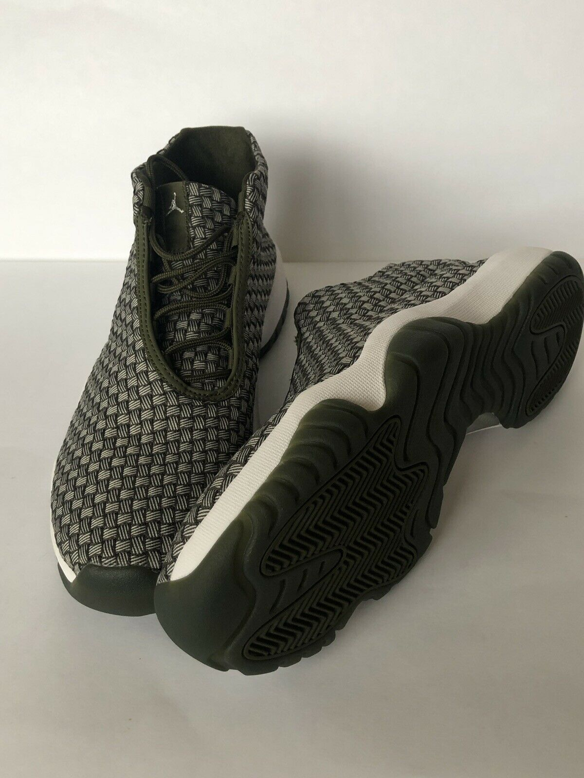 Nike Air Jordan Future Olive Canvas 656503-305 New Basketball shoes Size 10.5