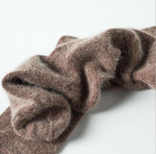 1 Paires Angora 100/% Laine Cachemire épais Chaussettes Homme Hiver Pure Haute Quantité 7-9