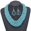 Women-Chunky-Fashion-Crystal-Bib-Collar-Choker-Chain-Pendant-Statement-Necklace thumbnail 20