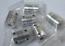 3pcs flexible coupling(5x8x25)of stepper motor for cnc machine,3d printer parts