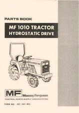Massey Ferguson MF-1010 MF1010 Hydrostatic Hydro Tractor Parts Book Manual