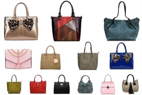 Womens Large Designer Style Tote Bag New Shoulder Handbag Cross Body Shopper Bag