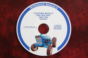 Ford 2000 3000 4000 5000 7000 Tractor Workshop Service Repair Manual Parts Cat Ford Tractor Manuals & Publications
