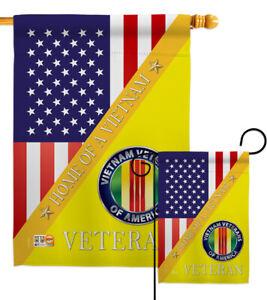 Home Of Vietnam Garden Flag Armed Forces Service Decorative Yard House Banner Ebay